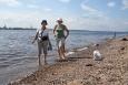 Pláž u Severní Dviny