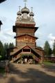 Vystoupení folklórního souboru u Voskresenského kostela