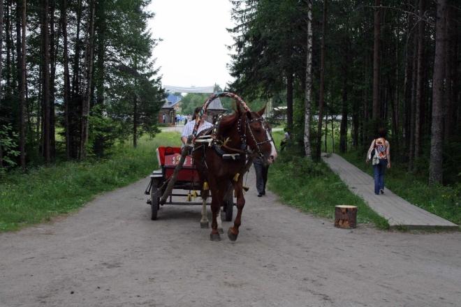 Možný způsob dopravy po skanzenu