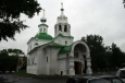 Vologda - Chrám Pokrova svaté bohorodičky na trhu