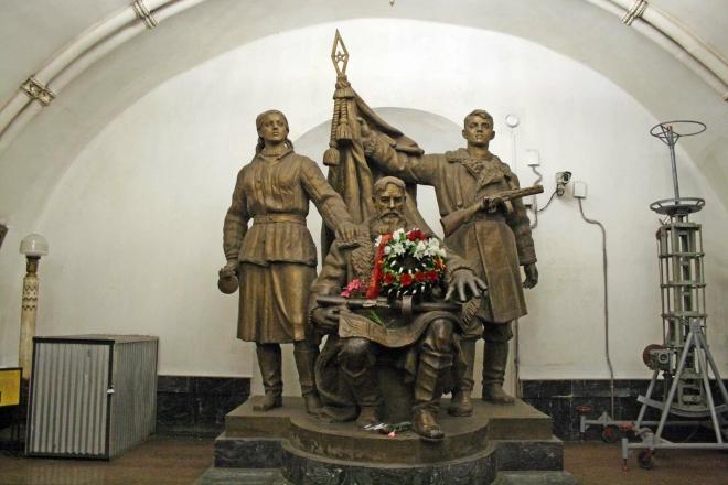 Moskevské metro - stanice Běloruská