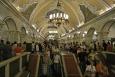 Moskevské metro - stanice Komsomolská