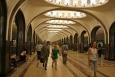 Moskevské metro - stanice Majakovskaja