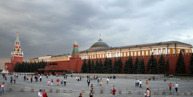 Kremelská strana Rudého náměstí