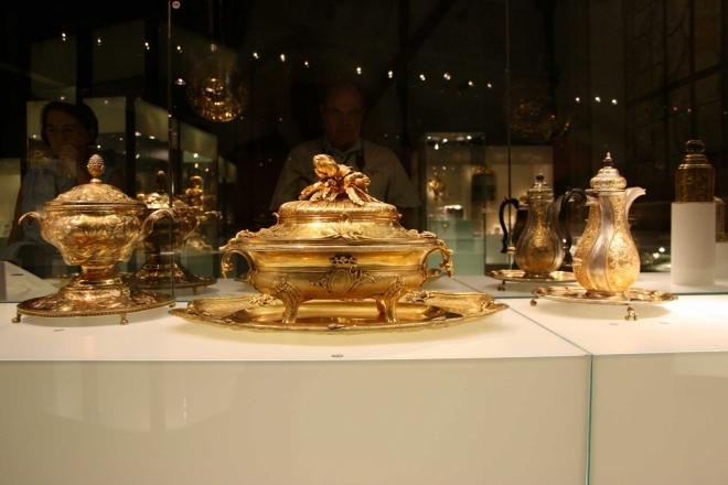 Z výstavy Zlato - kov carů, car kovů