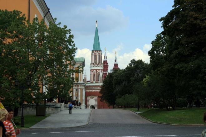 Moskevský Kreml - Nikolská věž