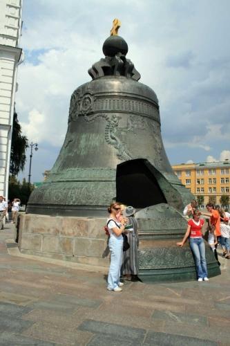 Moskevský Kreml - Car zvon
