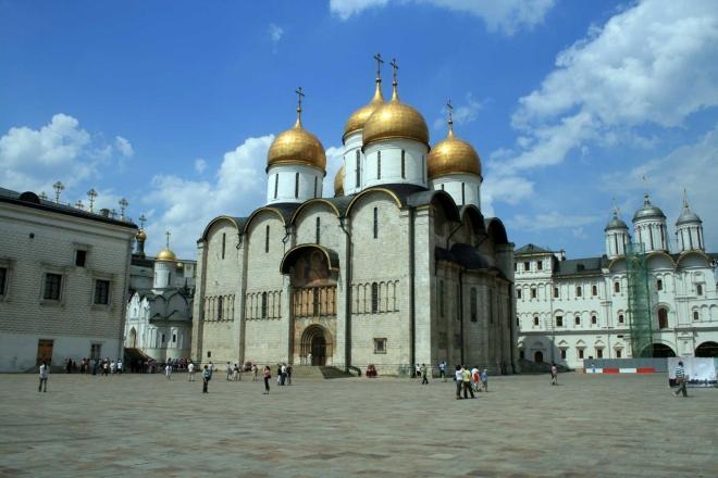 Moskevský Kreml - Uspenský chrám