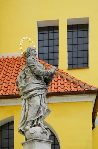 Kostel ve Vlachovo Březí.