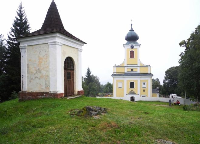 Kostel ve Lštění.