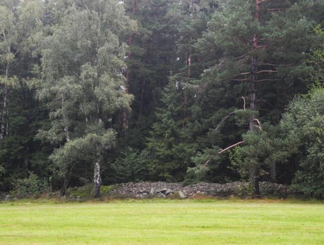 Kamenné hradby.