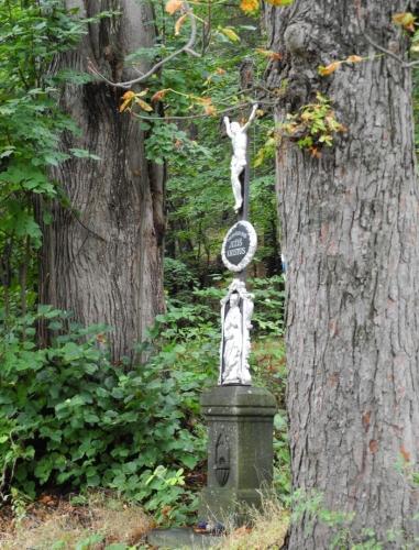 Křížek u Horního Kožlí.