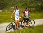 na kolech v údolí Sportgastein