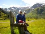 na začátku údolí Sportgastein