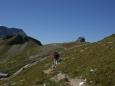 cestou k Hagener Hutte