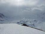 A už se zase dělalo hezké počasí. Jak správně poznamenal Jirka: ve Val Thorens není nikdy špatné počasí celý den!