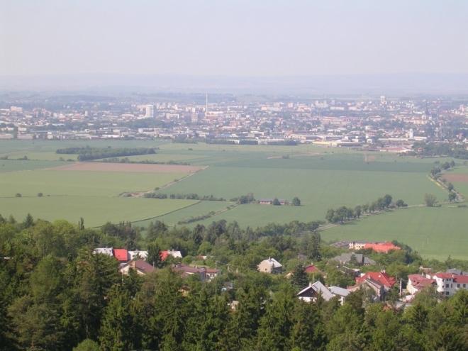 Pohled na Olomouc (2007, Hana Šimková)