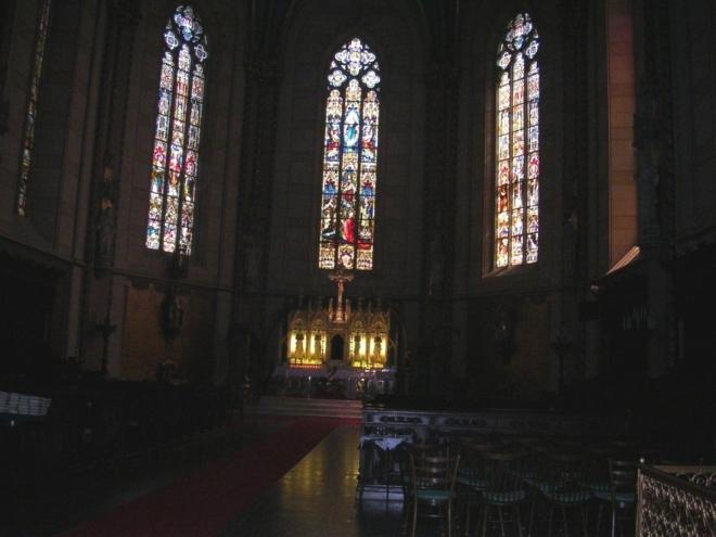 Oltář v katedrále (2007, Hana Šimková)