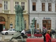 Árionova kašna na náměstí (Tomáš Novotný)