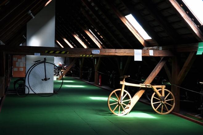 Muzeum historických motocyklů.