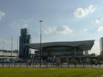 Nádraží Warszawa Centralna, jedno z největších podzemních v Evropě.