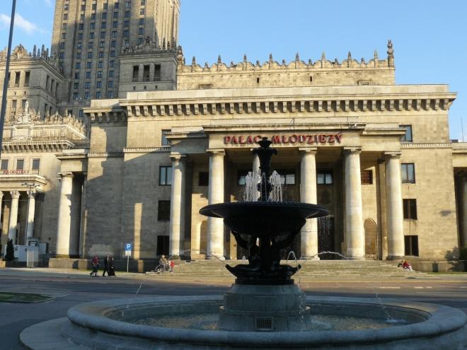 Palac Mlodziezy, čili palác mládeže (součást Paláce kultury)