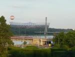 Stadion Narodowy (tam se možná teď hraje/hrálo Euro)