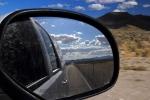 Na některých úsecí je jedno, jestli se díváte dopředu nebo dozadu. Vidět je prakticky totéž.