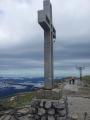 Kříž na vrcholu Klosterwappen