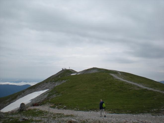Klosterwappen focený od chaty Fischerhütte