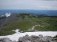 Pohled na hřeben Schneebergu