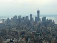 Pohled na mrakodrapy v Downtownu