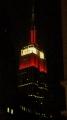Empire State Building v noci