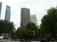 Mrakodrapy u Central parku, tedy v Midtownu