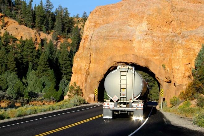 Utah - cestou do Bryce kaňonu