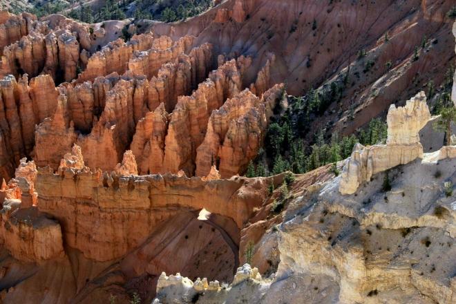 Utah, Bryce kaňon - první pohled