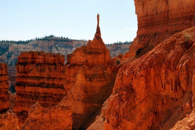 Utah, Bryce Canyon, Navajo Loop Trail - Sentinel