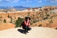 Utah, Bryce Canyon - z každé vyvýšeniny je okouzlující výhled