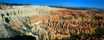 Utah, Bryce Canyon - Amphitheater, panoráma z Bryce Point