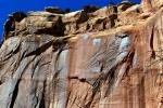 Utah - národní park Capitol Reef, struktura skály