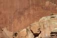 Utah - národní park Capitol Reef, staré indiánské malby