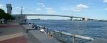 Most Benjamina Franklina přes řeku Delaware