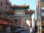 Brána přátelství do tzv. Chinatown, čínské čtvrti