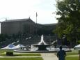 Fontána a Philadelphské muzeum umění