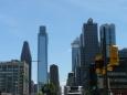 Pohled na mrakodrapy od nádraží (o moc víc jich v celé Philadelphii není)
