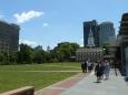 Independence Hall a fronta na zvon nezávislosti
