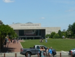 National Constitution Center, kde je muzeum ústavy USA.