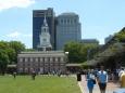 Independence Hall, budova, kde byla vyhlášena nezávislost a kde pak několik let sídlil kongres USA.