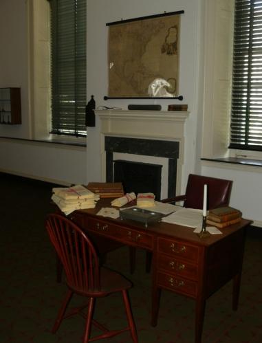 Kanceláře prvních členů kongresu USA.