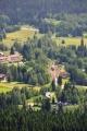 Stožec vznikl stejně jako Dobrá jako dřevařská osada a první zmínka o něm je z roku 1769. Na fotce je nádraží na trati Černý Kříž-Nové Údolí.